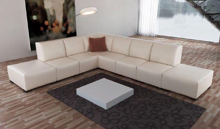 Elegante sofá rinconera modular