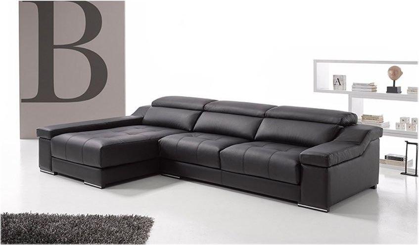 Sofá con rinconera 2 plazas moderno