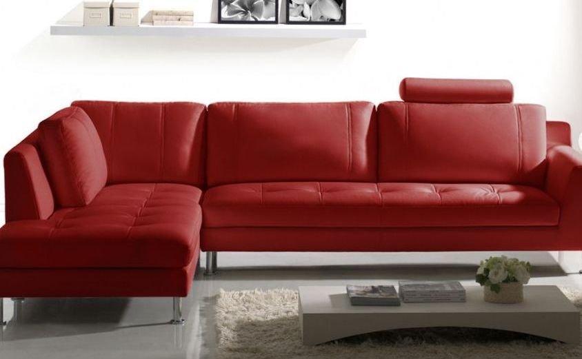 Sofá esquinero con cama de diseño