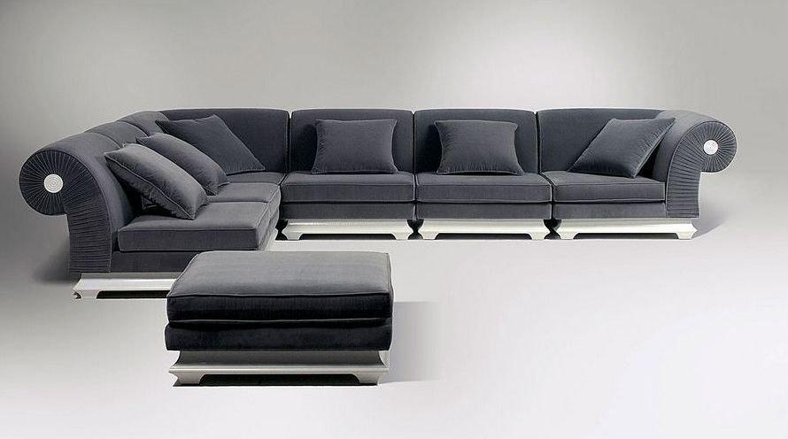 Sofá cama esquinero de diseño clásico