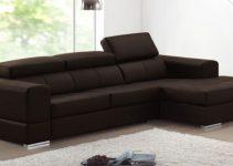 Sofá con cama esquinero de diseño elegante