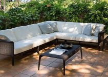 Sofá moderno esquinero para jardín