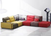Sofá modulable de estilo vintage